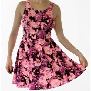 Ark & Co. Fit & Flair Floral Cut Out Mini Dress✨M